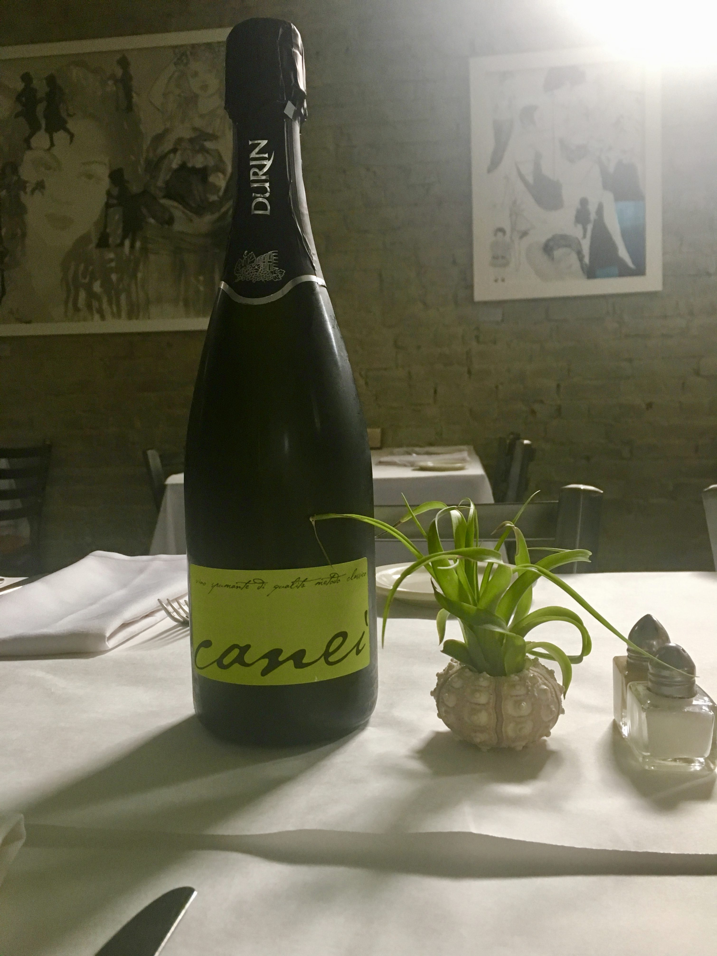 Durin Sparkling Pigato from Liguria